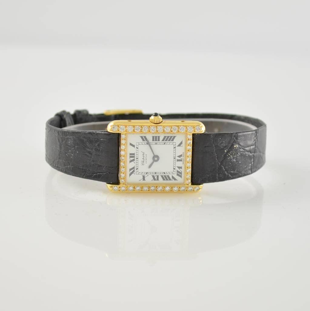 CHOPARD 18k yellow gold ladies wristwatch
