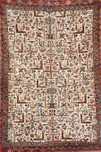 Kurk Qum 'Carpet' (Bird Design),