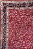 Mashad-Carpet 'Saber' (Signed),
