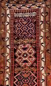 Shahsavan 'Runner' (Kilim-Pattern),