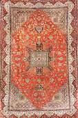 Silk Qum-Carpet (Signed),