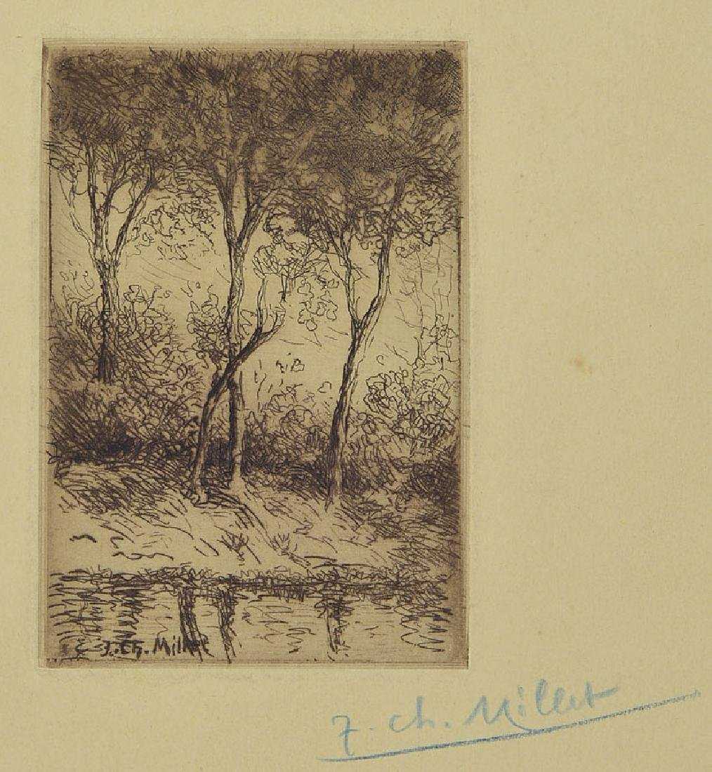 Jean Charles Millet, 1892 Paris-1944 KZ Dachau, well