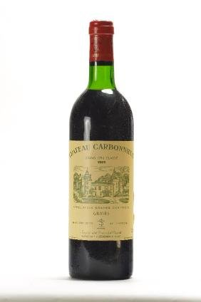 2 bottles of 1983 Chateau Carbonnieux, Graves,Grand Cru