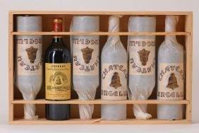 6 bottles of 2007 Chateau Angelus, Saint - Emilion