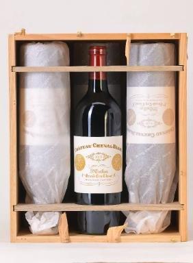6 bottles of 2005 Chateau Cheval blanc, Saint -Emilion