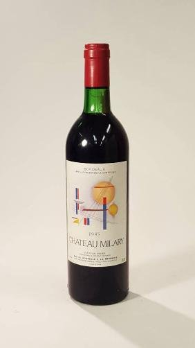 3 bottles of 1985 Chateau Milary, Christian Moueix,