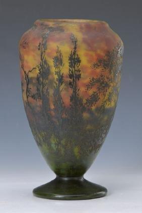 Large foot vase