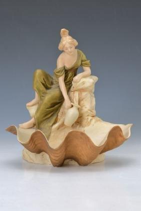 Figural Art Nouveau-bowl