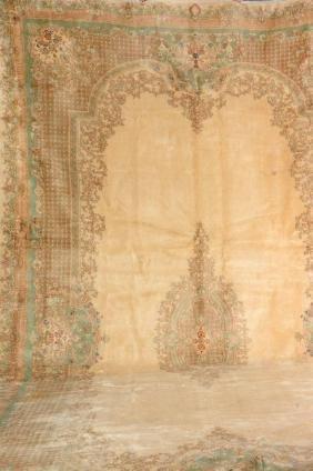 Large US Kirman Carpet,