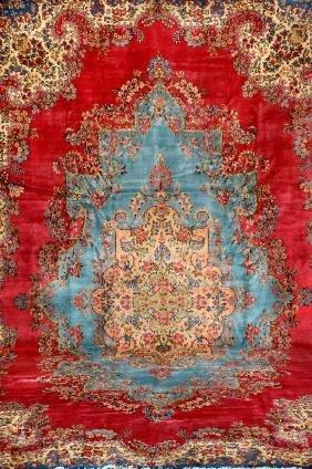 Large US Kirman-Lawar Carpet,