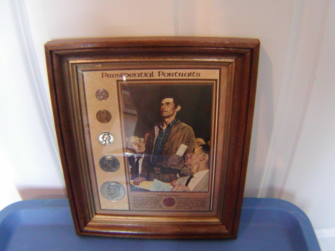Presidental Portraits Coin Collection