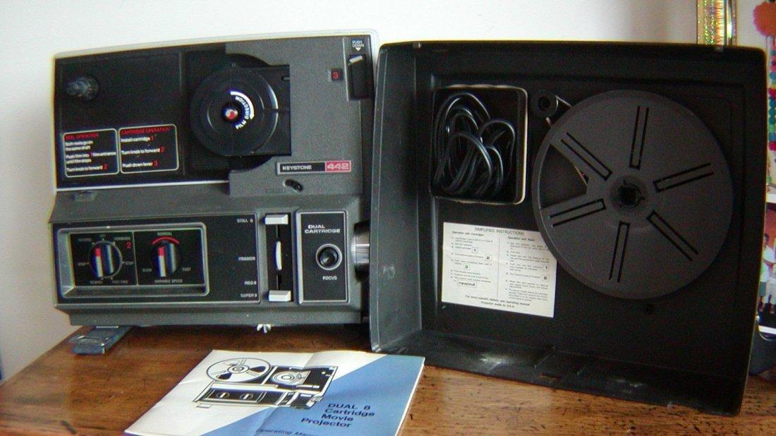 Keystone Daul Cartridge Projector