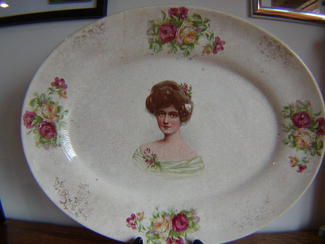 Antique Stubenville China Platter