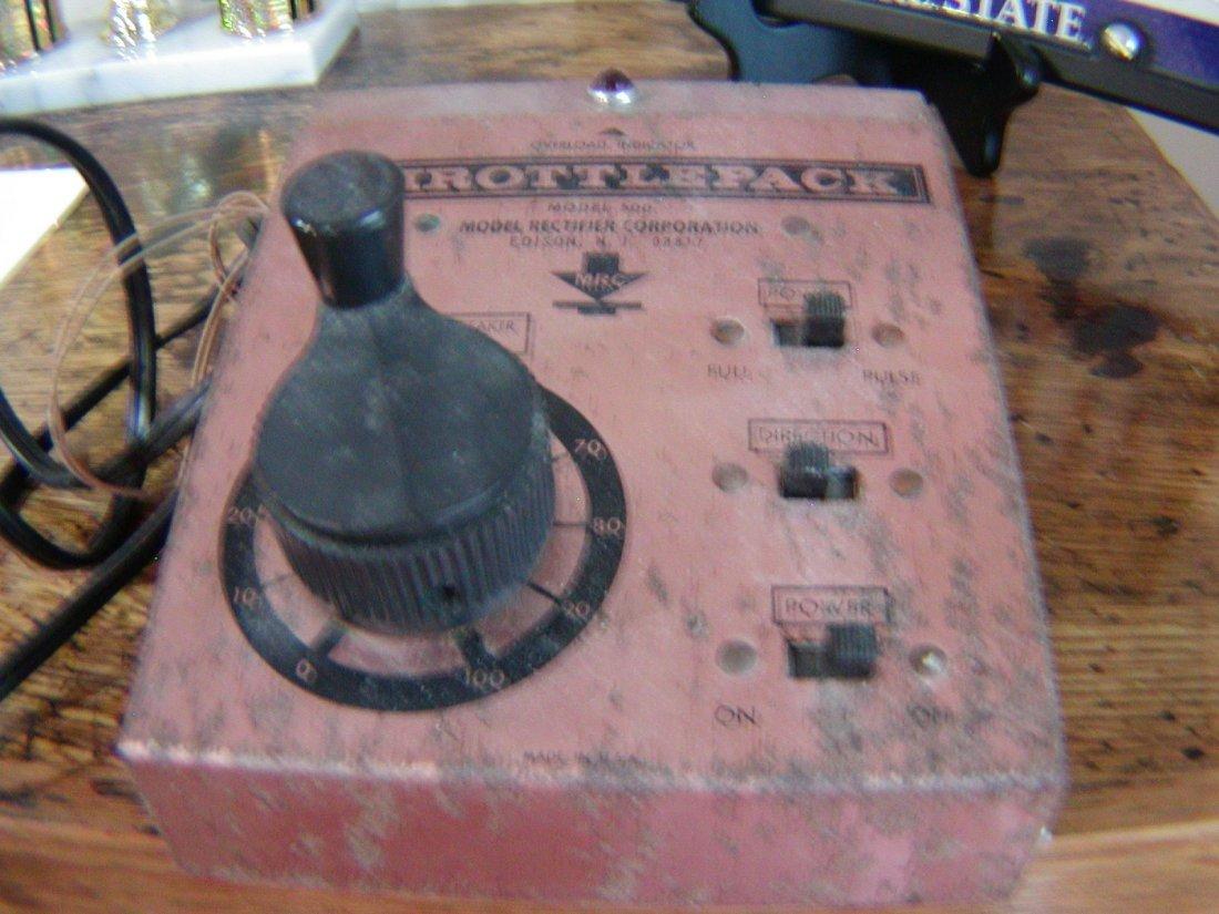 Vintage Throttlepack model 500  HO Train Control