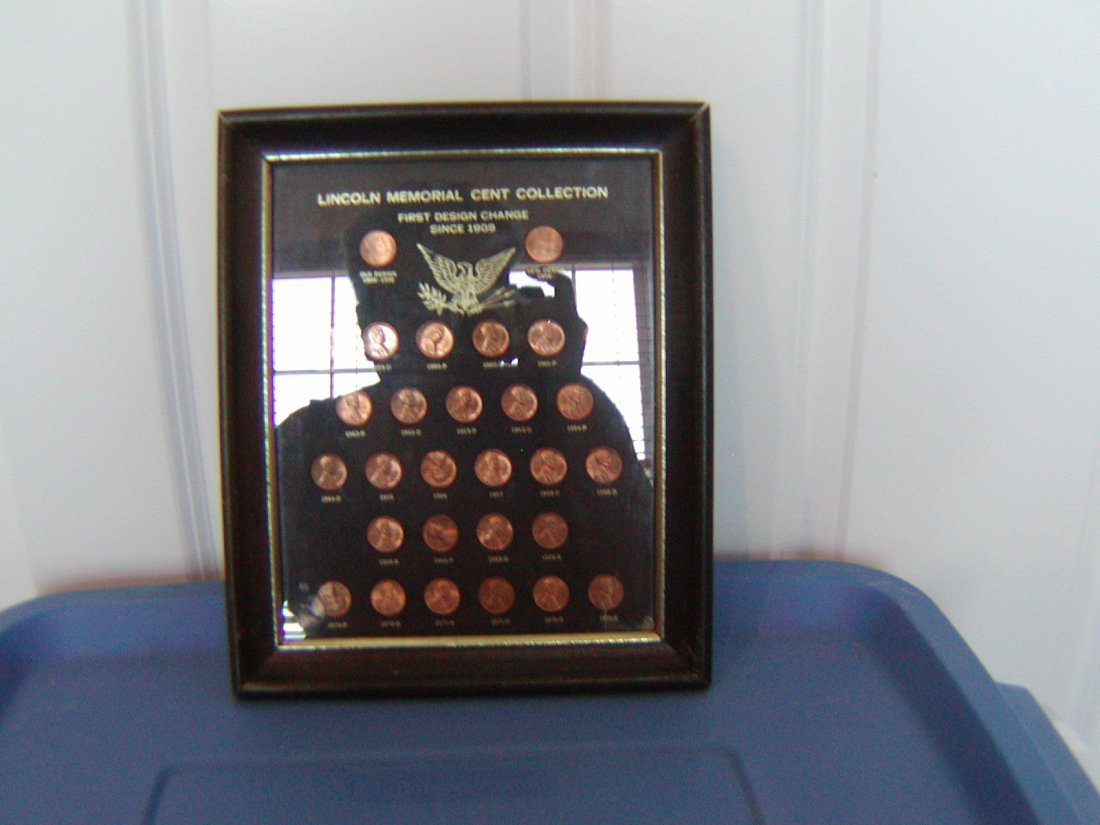 Lincoln Memorial Cent Collection