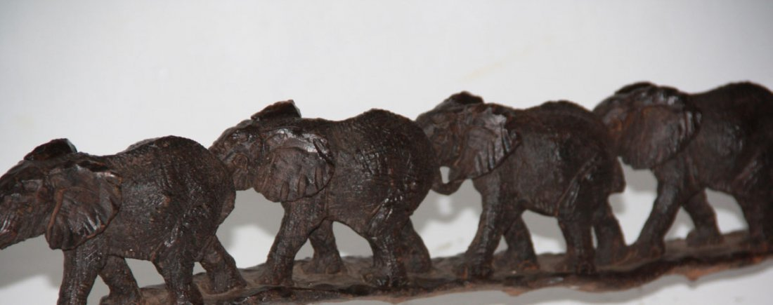 African Elephant wood Carving!!!