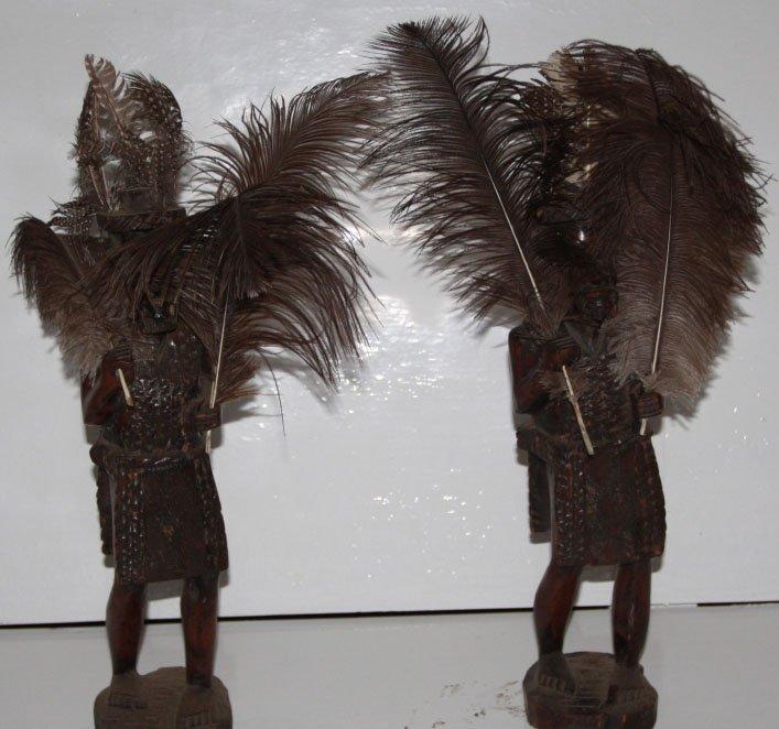 Ndebele Warrior Wood Carvings!!!