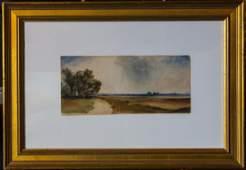 "Thomas Moran 1837-1926...""Amagansett Lanscape """