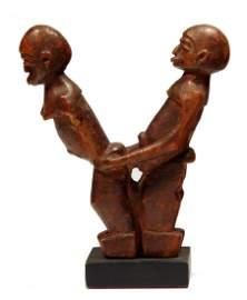 African Erotic Sculpture: Lobi