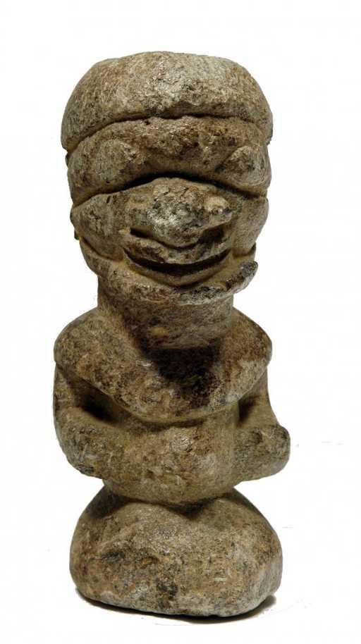 African Stone Figure Nomoli