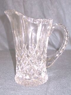 7: Crystal Water Pitcher