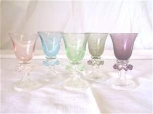 Set 5 Venetian Cordials