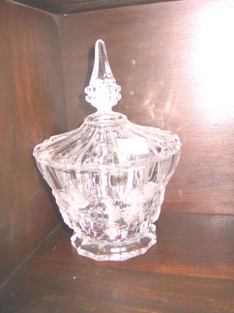 14: Lidded Glass Candy Dish