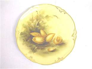 Hand Painted Pickard Plate Artist Signed