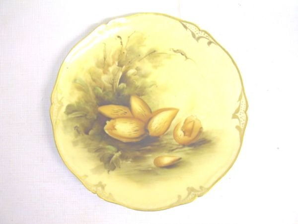 19: Hand Painted Pickard Plate Artist Signed