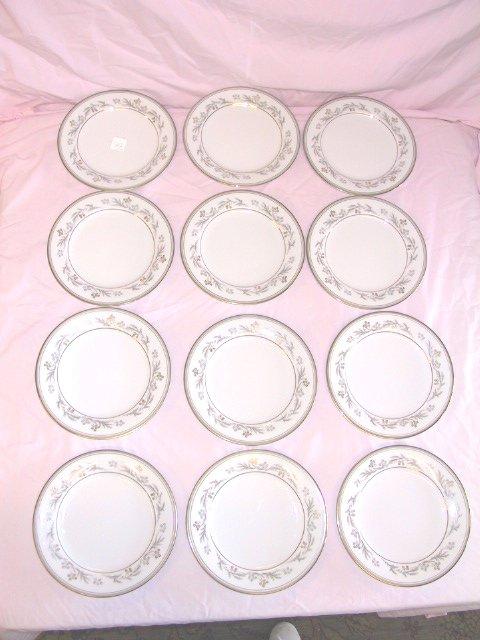 1: 12 Noritake MONICA Salad Plates