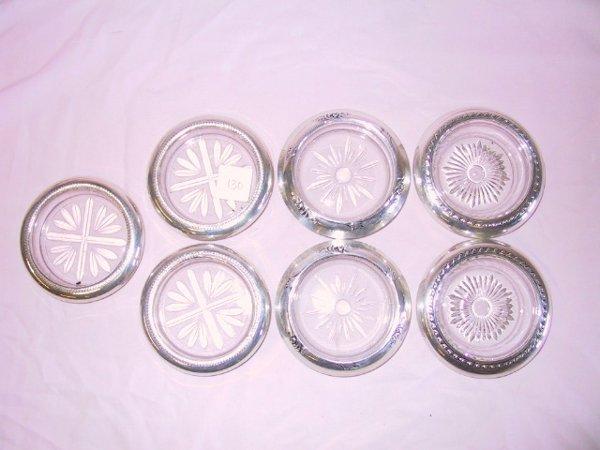 2: 7 Sterling Rim Coasters