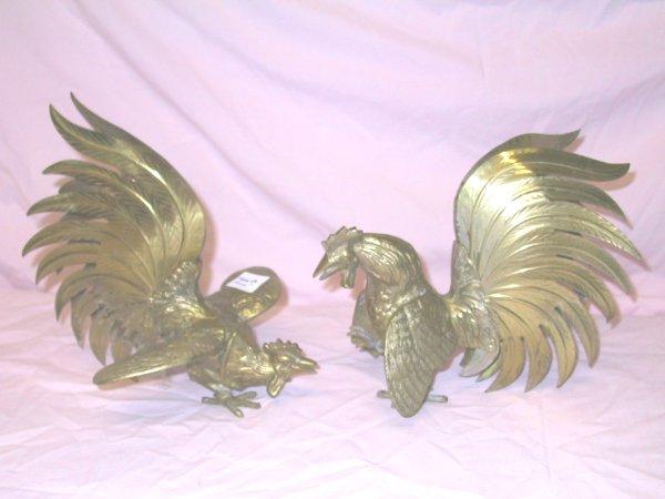 11: Pr. Brass Fighting Gamecocks