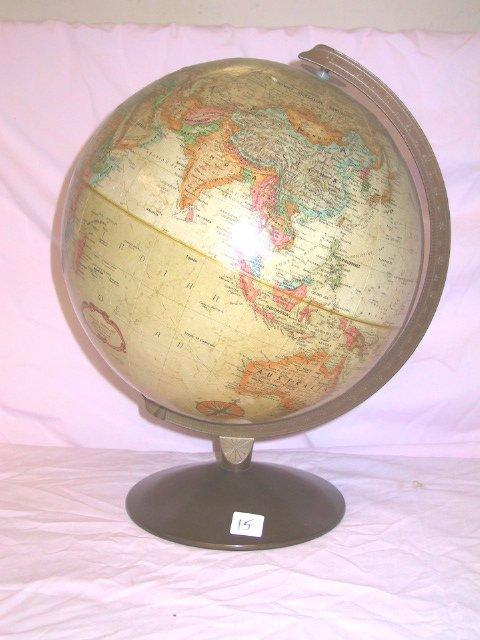 15: Desk Top Globe Replogle