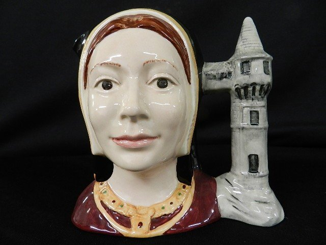"12: Royal Doulton Character Jug ""Catherine of Argon"" #6"