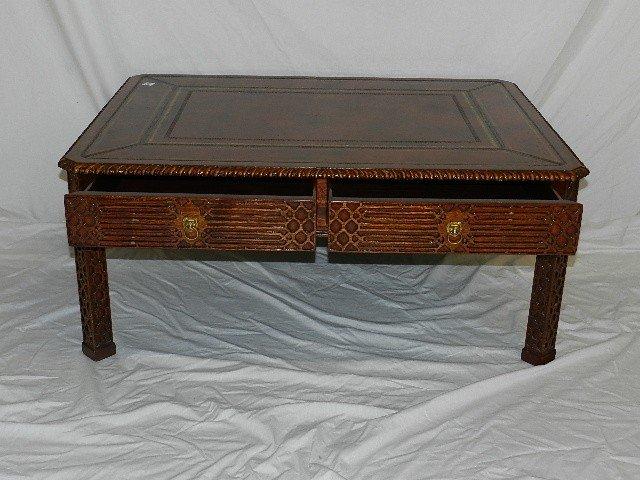 maitland smith coffee table : axiomatica