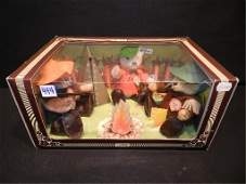 444 Vintage Steiff Campfire Bears in original box