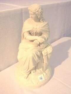 Composite Figural Seated Statue