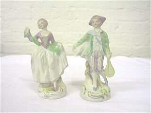 Pr. Occupied Japan Figurines.