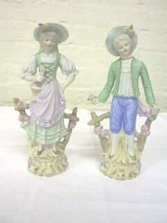 Pr. Andrea Occupied Japan Figurines.