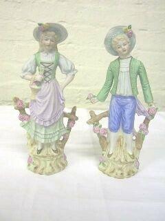 9: Pr. Andrea Occupied Japan Figurines.