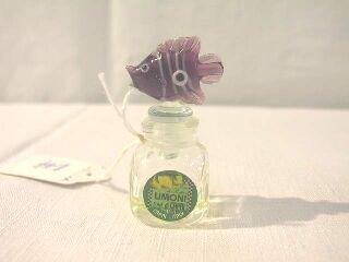 14: Miniature Italy Limoni Perfume Bottle w. Fish.