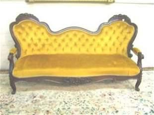 Victorian Double Camel Back Sofa