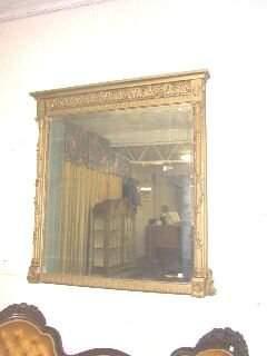 Ornate Gilded Mirror c.1890