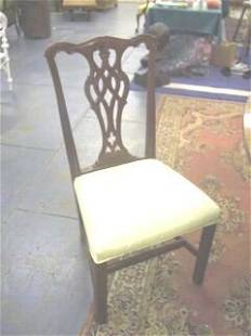 Set 8 Drexel Chippendale Style Dining Chairs