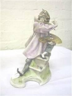 Italian Artist Painter Figurine A. Borsato.
