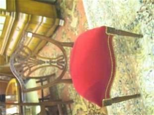 Pr. Sheraton Style Side Chairs.
