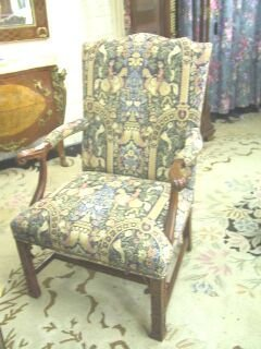 """117: Chinese Chippendale Style Arm Chair """"Southwood""""."""
