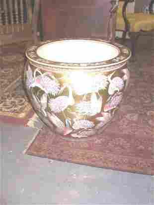 Porcelain Chinese Planter / Fish Bowl.