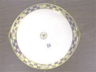 Moriage Nippon Handled Plate Platter.