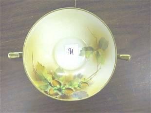 2 Handled Nippon Nut Bowl.